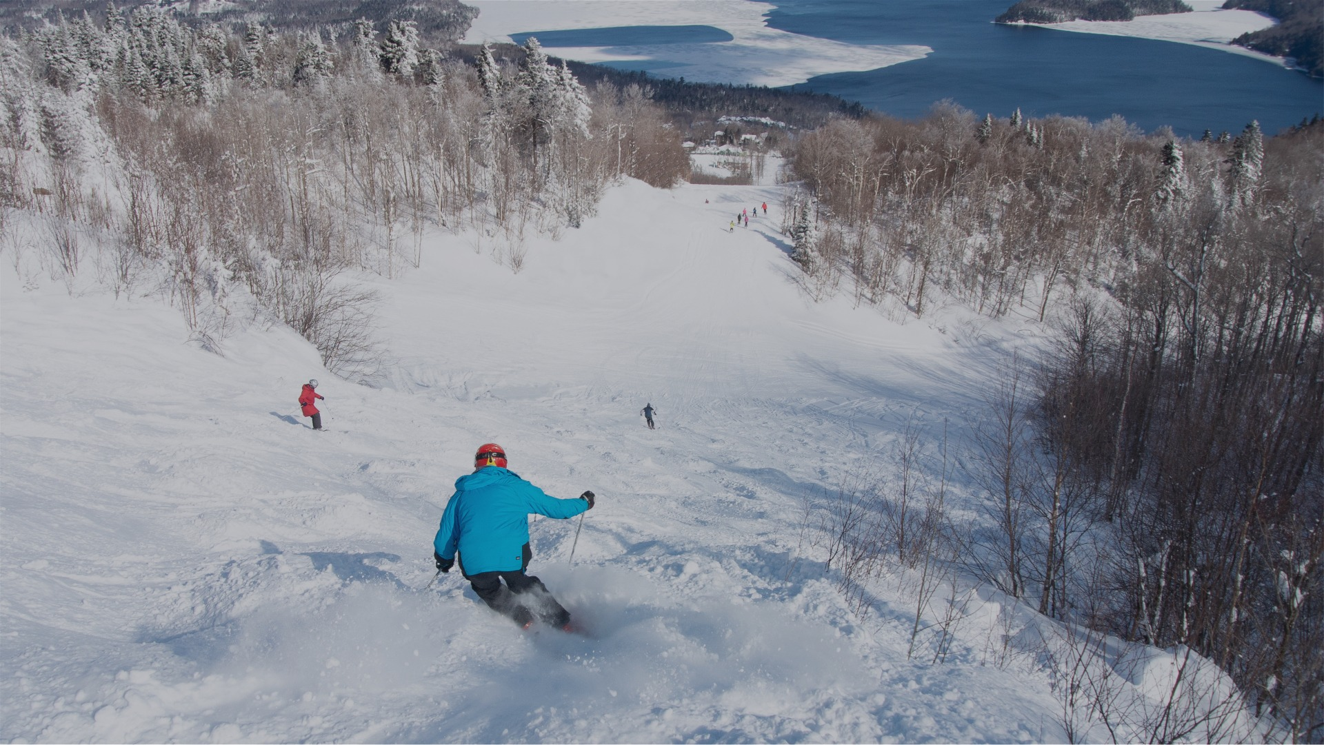 owls head ski lac memphremagog
